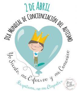 2 de abril Día Mundial de Concienciación sobre el Autismo.