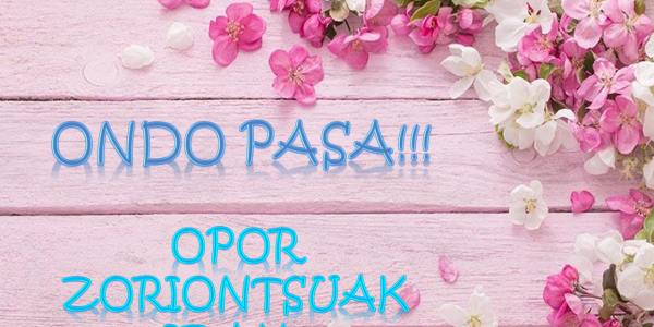 Opor Zoriontsuak!