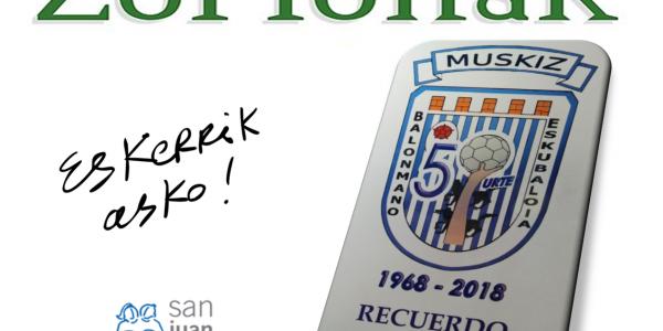 Club de Balonmano de Muskiz 50 aniversario