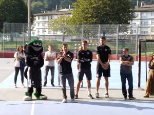 El Bilbao Basket en San Juan Ikastetxea