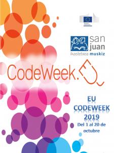 San Juan Ikastetxea en la CodeWeek