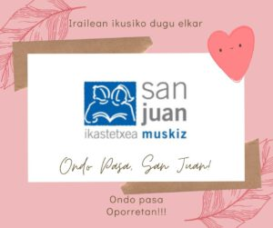 Gero arte San Juan!