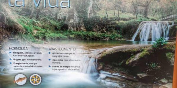 Exposición Ibaialde en San Juan Ikastetxea