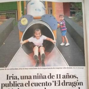 "Iria eta ""El Dragón orejón"""