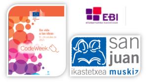 Code Week 2021 kodearen eta programazioaren Europako astea hemen dago