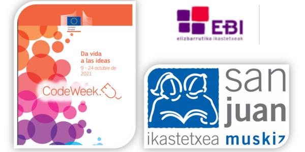Ya está aquí la semana europea del código y la programación Code Week 2021